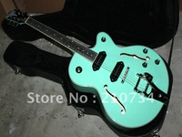 Wholesale -best New OEM with Bigsby Custom Classic Style jazz Electric Guitar in Green