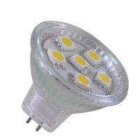 MR11  Warm White LED Blub 6 SMD 5050 LED Energy saving Bulb Lamp