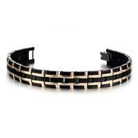 wholesale NEW   black titanium bracelet&free shipping