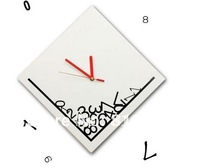 Guaranteed 100% Free shipping  Drop time wall clock, Home decoration  alarm clock Wholesale or Retail