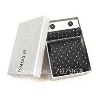 Classic black dot assembling a tie