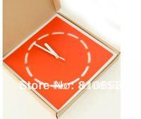 Guaranteed 100% Free shipping  fashion Square DIY  wall clock(1pc),Retail Lc13051102