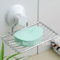HOT Selling!!Retail&Wholesale  Powerful suction soap dish plating single cell +free shipping