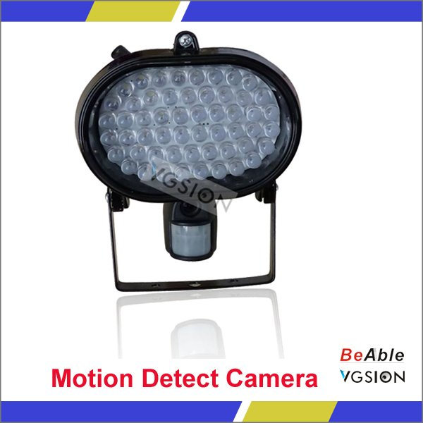 Motion Activated Camera With 120 Degree Cam View Angle Security Light With 54pcs LEDS(China (Mainland))