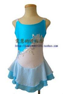 BOART hot sales Ice Skating Dress Beautiful Figure New Brand vogue Ice training Dress Competition customize C08(China (Mainland))