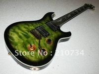 Wholesale - New signing habits instruments very beautiful classical crystal green bats product electric guitar