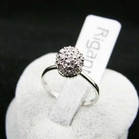 FREE SHIPPING!!Alloy jewelry,alloy fashion Ring,luck ring,Austrian Crystal SWA Element