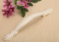 20 pcs96mm  Ivory / gold, true antique handles / doors drawer wardrobe cabinet handle free shipping