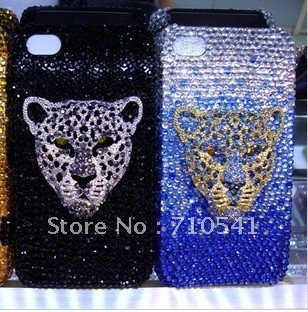 Free shipping(10pcs/lot) wholesale 3D Bow Hard Protector diamond cell phone cover for blackberry 9000/9700/9800/8520/8900(China (Mainland))
