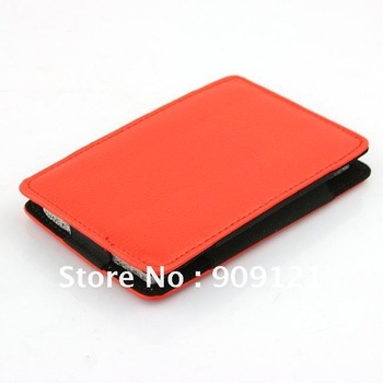 Elegant  HDD Protection Leather Case for 3.5 Inch HARD DISK Drive New-red