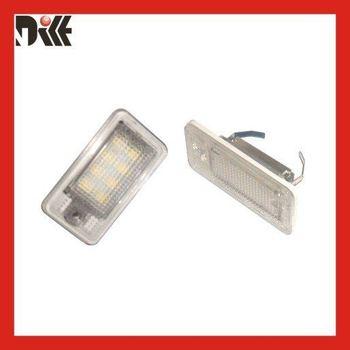 A3/S3  04~09  A3 Cabriolet A4 /S4 B6(8E/8H)  A4 /S4 B7 A6 /C6 (4F) S6  A8 /S8 D3(4E) Q7 RS4 LED license plate light
