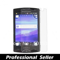 100pcs/lot&free shipping New Clear LCD Flim Screen Protector For  Sony Ericsson Xperia Mini ST15i