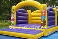 free shipping/size: 15'L-10'W-10'H ft/inflatable castle