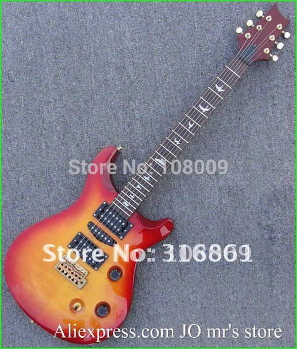 new arrival Reed Smith 3 pickups cherry sunburst Electric guitar(China (Mainland))