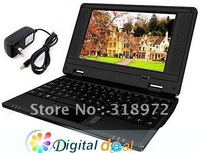 15pcs NEW 7 inch Mini Netbook Laptop Notebook UMPC Windows CE  2GB Free shipping hot sales
