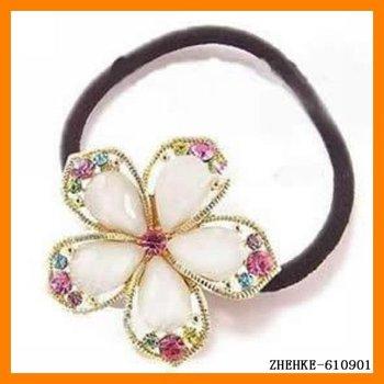 colorful Fashion gift crystal rhinestone Hair RopeZHEHKE-610901