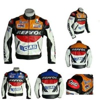 PU leather motorcycle clothing motorcycle cool racing clothes jacket clothing jersey  654