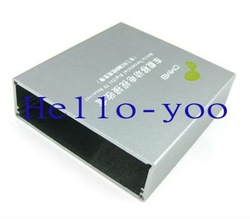 Free shipping! Aluminum project box car mobile dvb t digital tv receiver(China (Mainland))