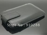 For iphone 4 Leather Case, Genuine Leather Pouch for iPhone 4s