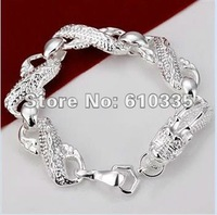 Hot!Free Shipping wholesale 925 Sterling Silver Fashion Jewelry Bracelet.GB18