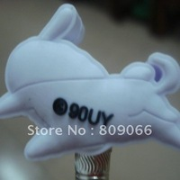 Promotion Gifts 3D soft pvc customized logo pencil Topper delivery at random