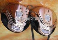 Hot PopularGolf Clubs Maruman MAJESTY VANQUISH-VR 3/5.Golf Fairway Woods.2Wood/lot,,Stiff Golf Graphite shaft Free shipping,