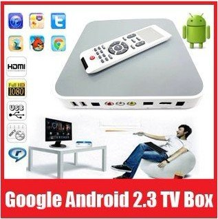 Google Android 2.3 TV Box iptv set top box with Cortex A8 1.2Ghz,4GB/512MB RAM,1080P HD Movie, WIFI, Support 2.4G wireless mouse(China (Mainland))