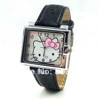 20pcs/lot  Fashion Watch Lovely Watch Hello Kitty Watch Sweet Cute for Ladies Girl Cheaper Wristwatch Quartz watch Cute watches