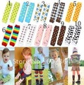 Baby leg warmers infant socks baby cotton legging 4 series 10pairs/lot free shipping