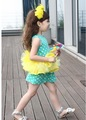 Baby girls skirts lace dresses fashion polka dot dresses sleeveless 2 colors 10pcs/lot chinapost