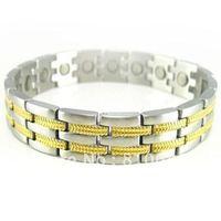 Free shipping!!Men Stainless Steel Magnetic Bracelet ( Variations )