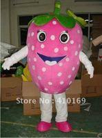 Easter strawberry Cartoon Mascot Costume free shipping