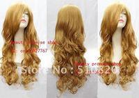 Free shipping Blonde fasjon wigs factory price