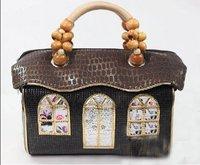 New Hot Fashion Amliya Abstract Lady's Handbags Messenger bags tote bag romatic princess house handbag 5 colors
