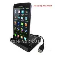 Free shipping USB Sync Cradle Dock with Second Battery Charger For Samsung Galaxy Note i9220