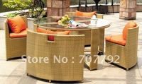 2012 Hot sale SG-12012B Urban new style dining chair,outdoor rattan furniture