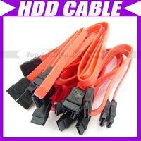 10X ATA SATA RED SERIAL DATA HARD DRIVE HDD CABLE #088