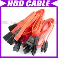 10X ATA SATA RED SERIAL DATA HARD DRIVE HDD CABLE #088