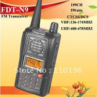 DHL Free Shipping Cheapest 5 Watts  Long Distance VHF Amateur Radios (FDT-N9)