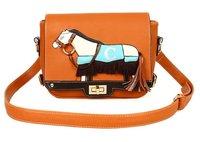 Hot sale Free Shipping Retro zebra Lady's bag; new messenger fashion bag ;ladies' bag/women's;wholesale and retail Promotion!!