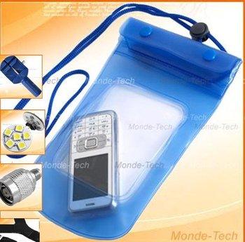 free shipping 10pcs/lot blue water proof bag Water Proof Pouch,Beach Bag,Beach Pouch for phone