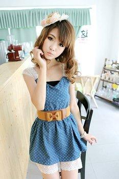 Lady Cute Summer Dress Print Dress,Girls Dress Up,Free shipping,High Quality,3 Days Leading,Cheap,Wholesale 1 Pcs,Lot /-YGZ5829