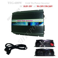 600W On Grid Tie Solar Inverter DC 10.5v-28v input and AC 220v/230v output