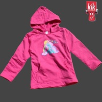 wholesale branded girls long sleeve pink hoodies children Spring and Autumn cartoon cotton sweatshirt free shipping