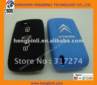 fashion silicone car key protectors for citroen