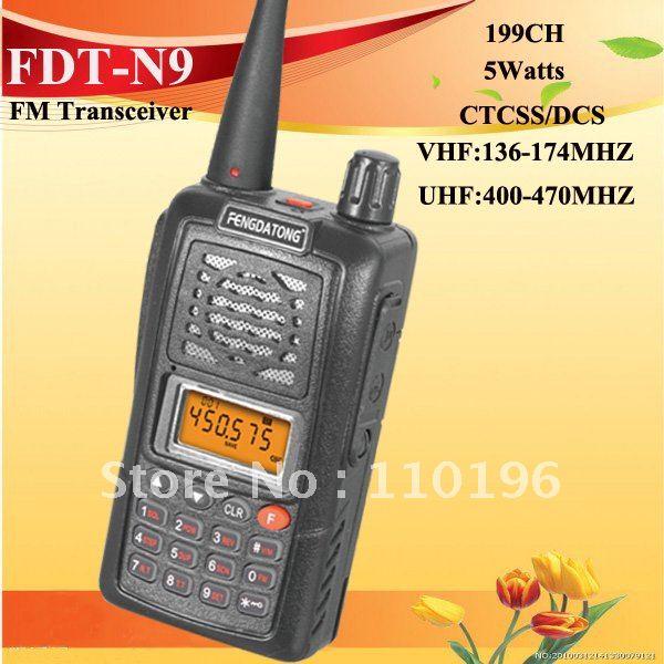 Long Range Marine Radios VHF/UHF 5 Watts One Year Warranty DHL Free Shipping(China (Mainland))