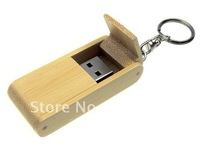 Wooden bamboo box Wholesale genuine capacity usb flash pen drive disk stick pendrive 4GB,8GB,16GB,32GB memory