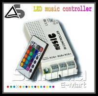 DC 12V 24 keys IR Remote Controller For RGB LED Strip Light free shipping