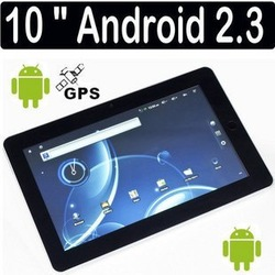 Free shipping Surplus Fang Wei six generation Vimicro V10A8 10inch tablet computer1G memory Android2.3 GPS navigation(China (Mainland))