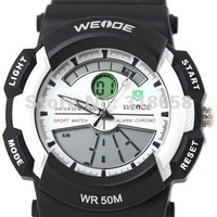 Diving Timepiece Scuba Mens/boy Sport Wrist Watch White&Black Nice Gift Wholesale Price A172
